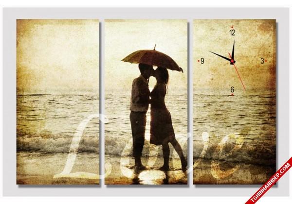 Tranh đông hồ chủ đề tình yêu