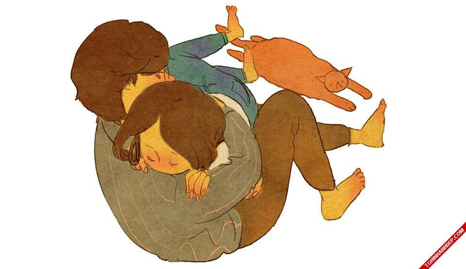 Trọn bộ tranh vẽ Thế giới của những kẻ yêu nhau