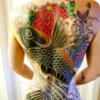 Bộ sưu tập mẫu hình xăm cá chép nghệ thuật cực đẹp nhất