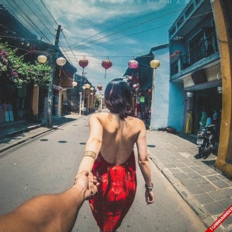 Ngắm bộ ảnh độc đáo Nắm tay em đi khắp thế gian phiên bản Việt cực đẹp